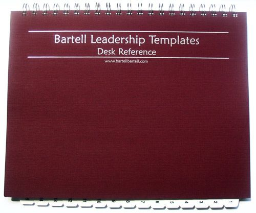 Leadership Template Book - Desk Reference